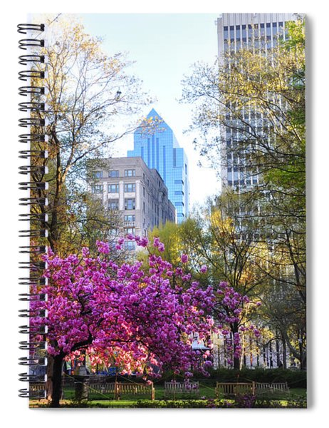 Rittenhouse Square In Springtime Spiral Notebook