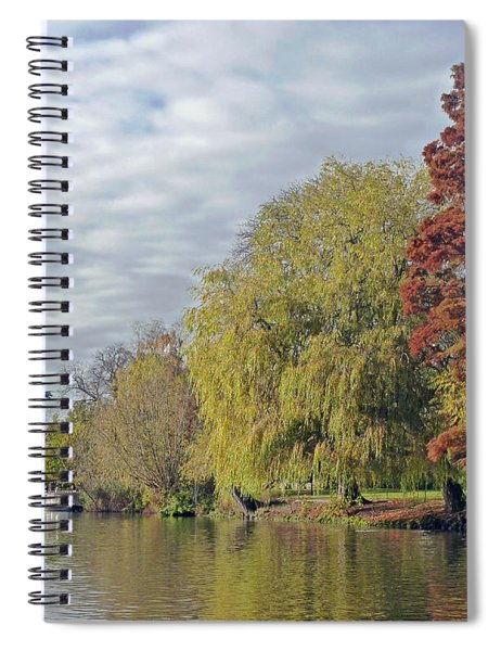 River Avon In Autumn Spiral Notebook