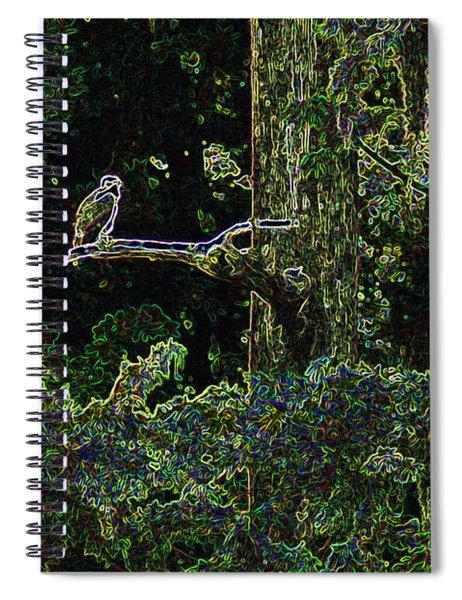 River Bird Of Prey Spiral Notebook