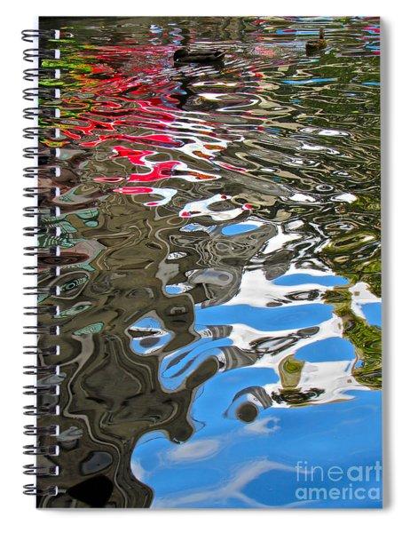 River Ducks Spiral Notebook