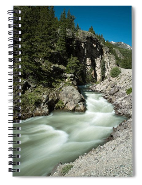 River In Colorado Spiral Notebook