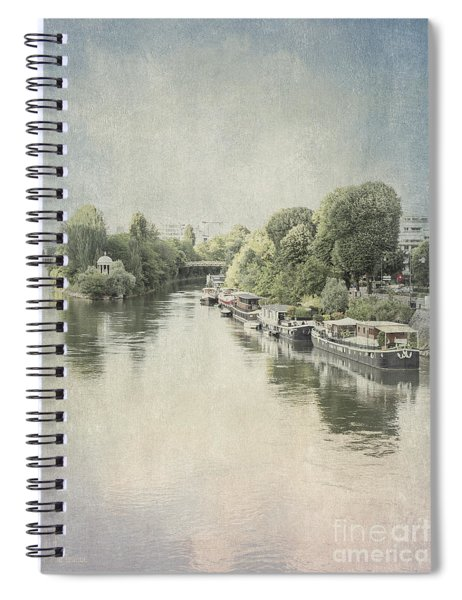 River Seine In Paris Spiral Notebook