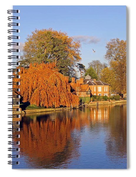 River Thames At Marlow Spiral Notebook