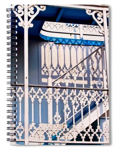 Riverboat Railings Spiral Notebook