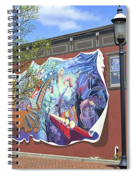 Riverside Gardens Park In Red Bank Nj Spiral Notebook