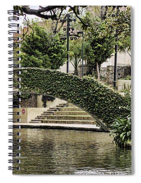 Riverwalk Charm Spiral Notebook