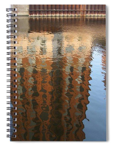 Riverwalk Reflection Spiral Notebook