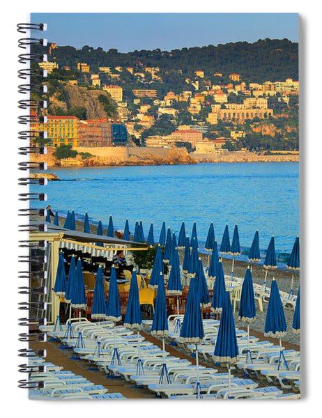 Riviera Full Moon Spiral Notebook