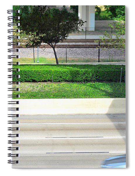 Road And Rail Spiral Notebook