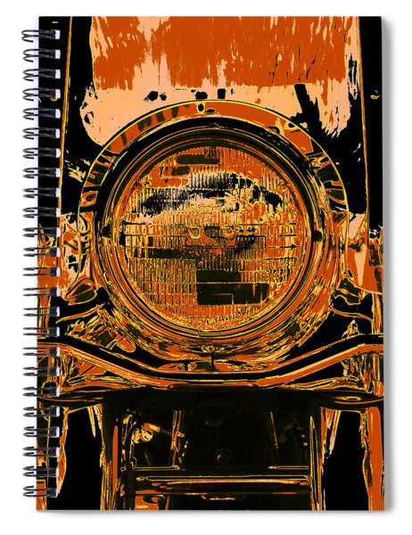 Road King Front Spiral Notebook