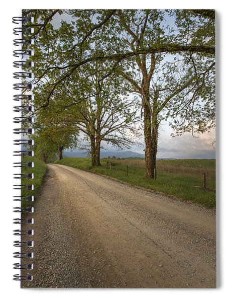 Road Not Traveled II Spiral Notebook