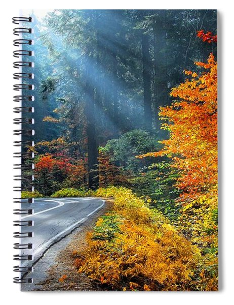 Road To Glory  Spiral Notebook