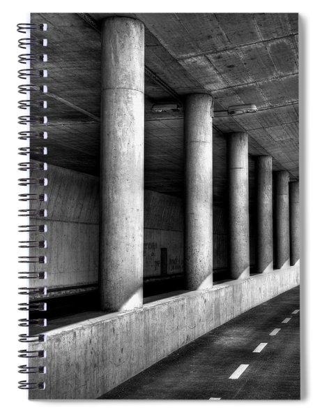 Road To Spiral Notebook