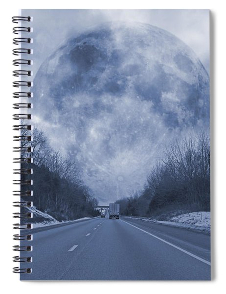 Road To The Horizon Spiral Notebook