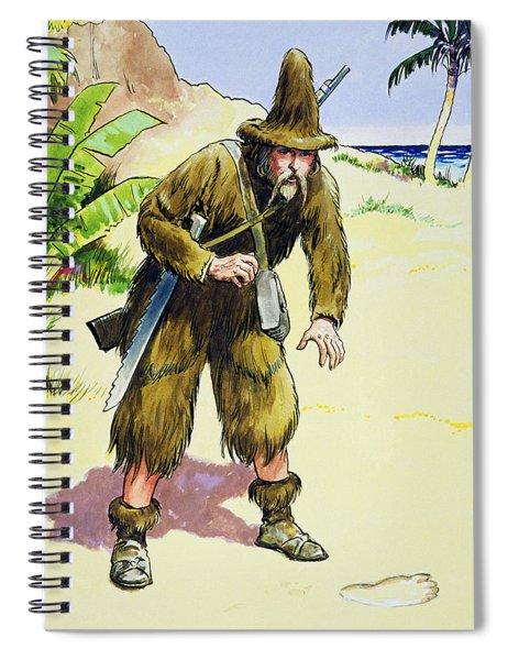Robinson Crusoe, From Peeps Spiral Notebook