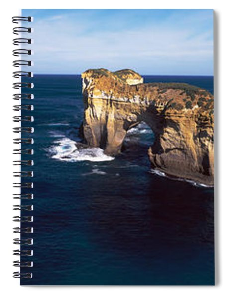 Rock Formations In The Ocean, Campbell Spiral Notebook