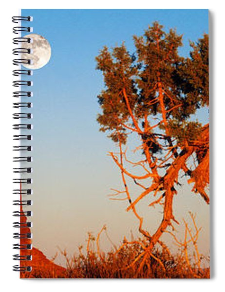 Rock Formations, Monument Valley Tribal Spiral Notebook