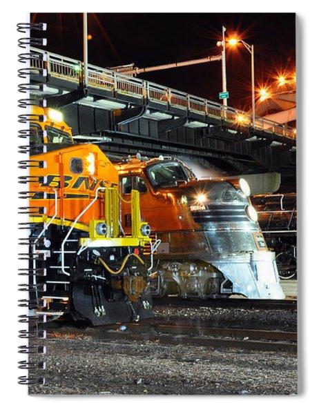 Rock Island Train Festival 2011 Spiral Notebook