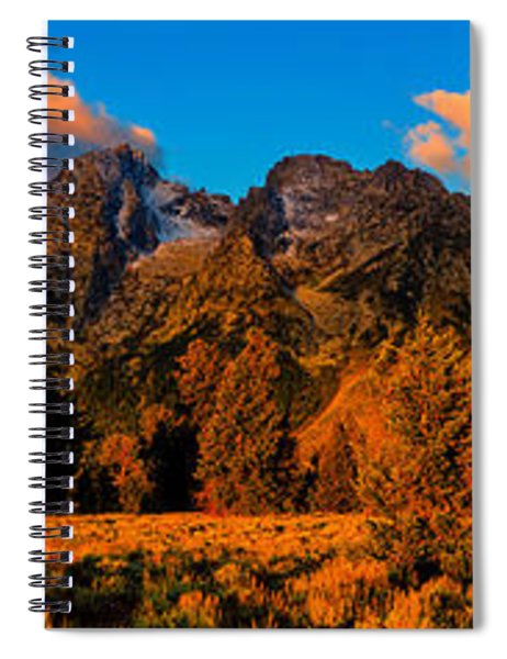 Rock Of Ages Panorama Spiral Notebook
