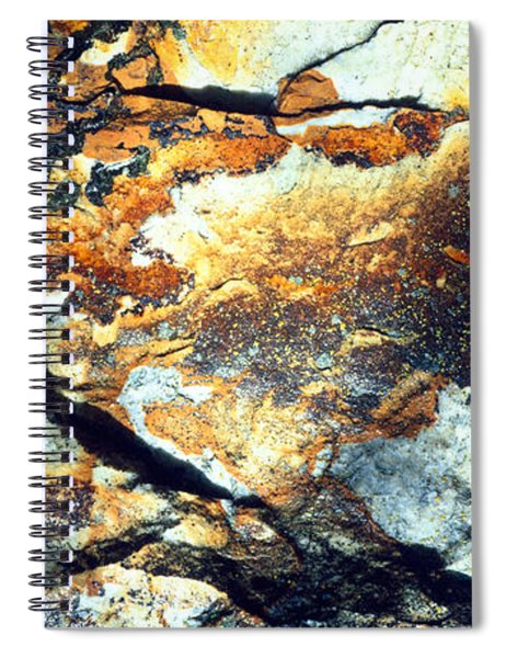 Rock Wasatch National Forest Ut Usa Spiral Notebook