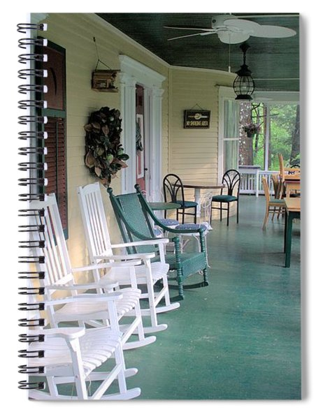 Rockers On The Porch Spiral Notebook