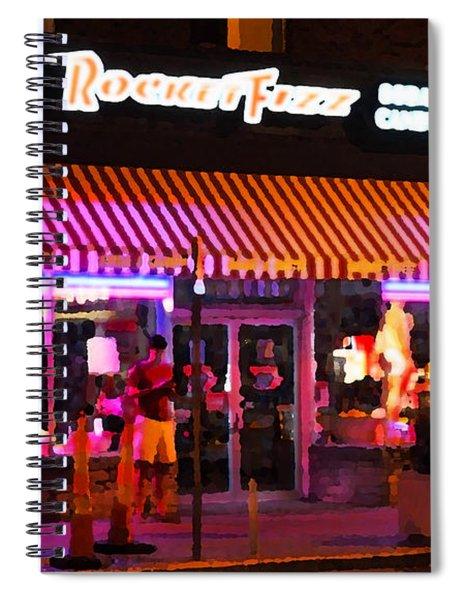 Rocket Fizz Spiral Notebook