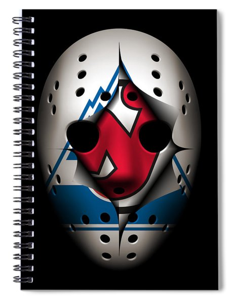 Rockies Become The Devils Spiral Notebook