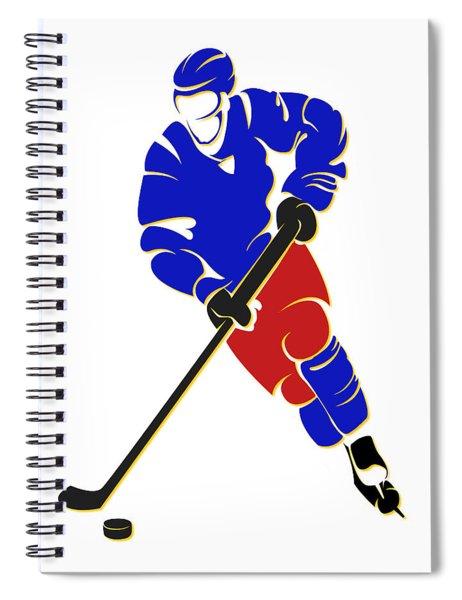 Rockies Shadow Player Spiral Notebook