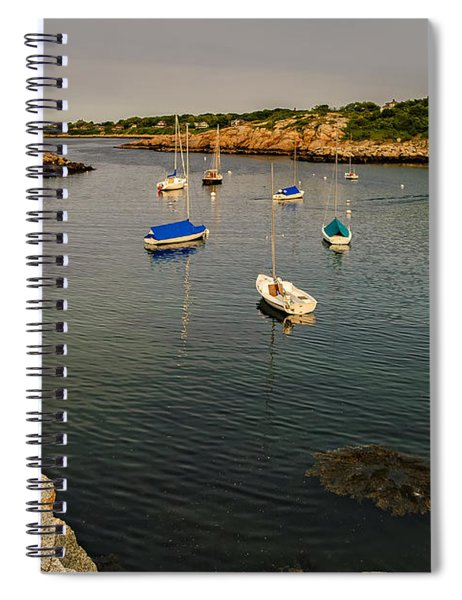 Rockport Gold Spiral Notebook