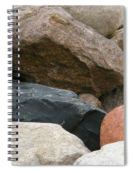 Rocks In Various Colors Spiral Notebook