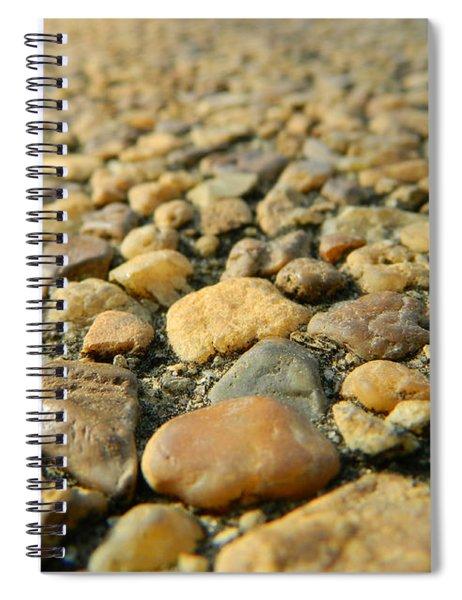 Rocks On My Path Spiral Notebook