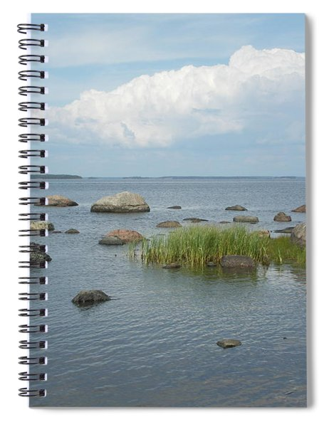 Rocks On The Baltic Sea Spiral Notebook