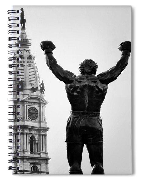 Rocky And Philadelphia Spiral Notebook
