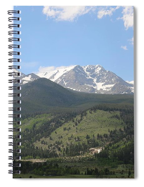 Rocky Mountain National Park - 3  Spiral Notebook