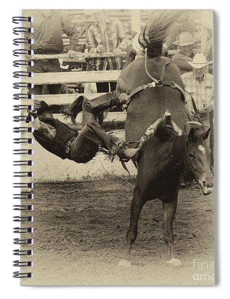 Rodeo Learning To Fly Spiral Notebook