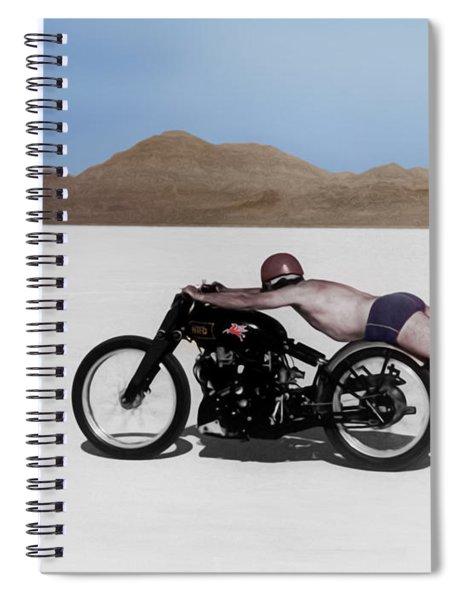 Roland Rollie Free Spiral Notebook