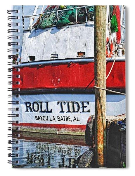 Roll Tide Stern Spiral Notebook