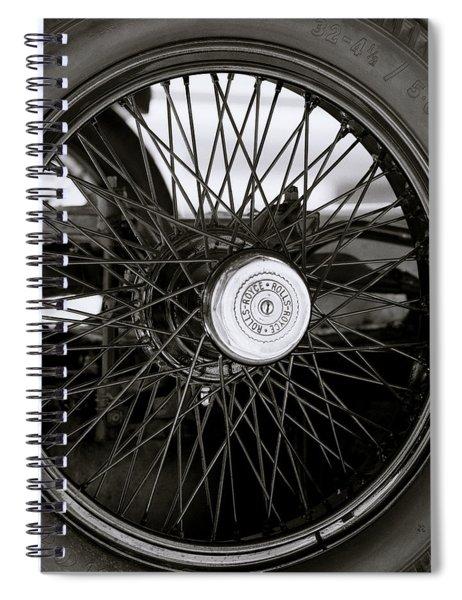 Rolls Royce Wheel Spiral Notebook