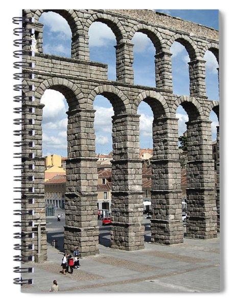 Roman Aqueduct IIi Spiral Notebook