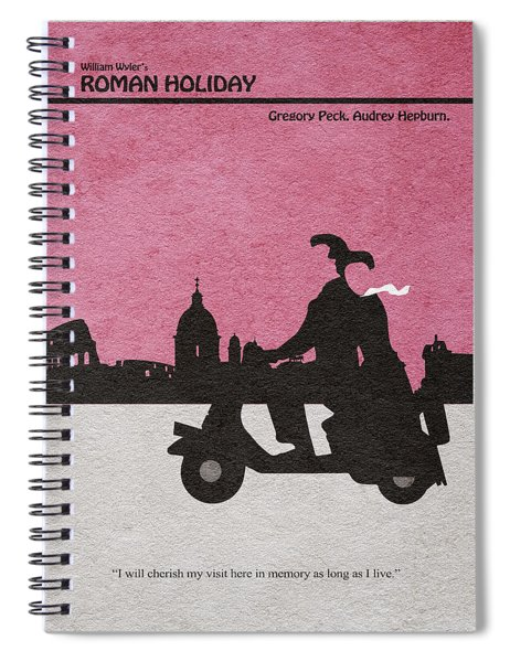 Roman Holiday Spiral Notebook