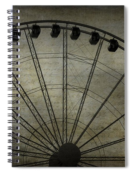 Romance In The Air Spiral Notebook