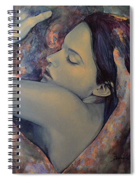 Romance With A Chimera Spiral Notebook
