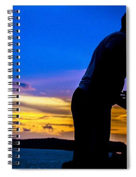 Romantic Couples Spiral Notebook
