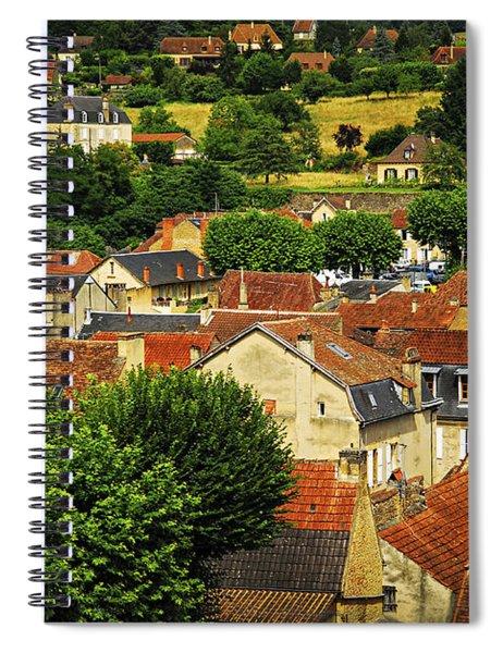 Rooftops In Sarlat Spiral Notebook