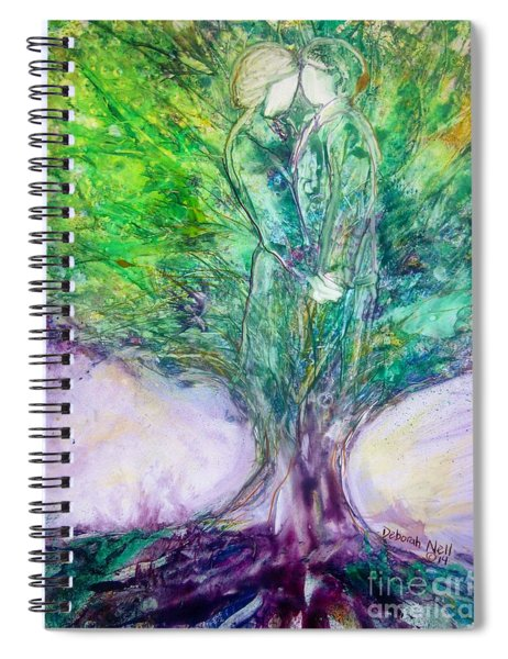 Rooted In Love Spiral Notebook