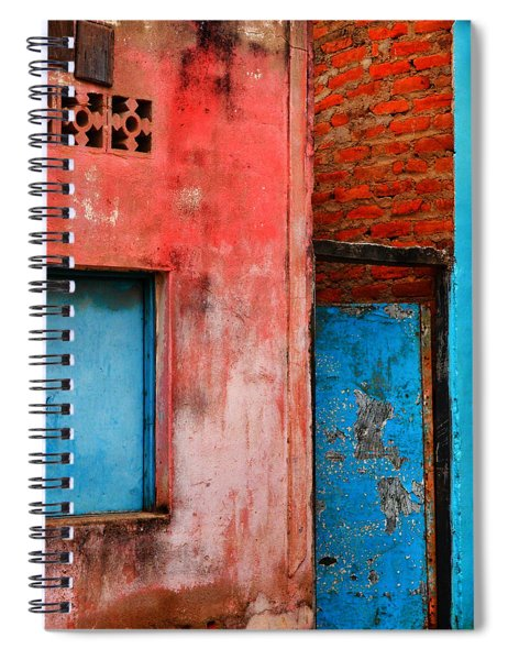 Spiral Notebook featuring the photograph Rosa's Place by Skip Hunt