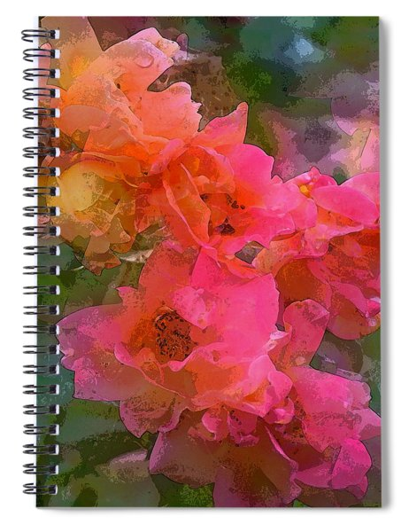 Rose 219 Spiral Notebook