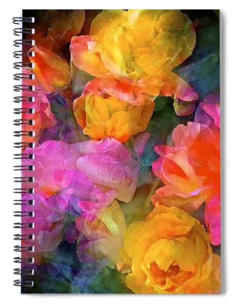 Rose 224 Spiral Notebook