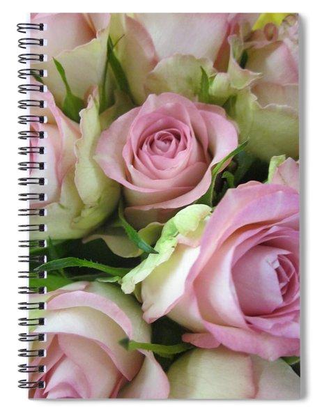 Rose Bed Spiral Notebook