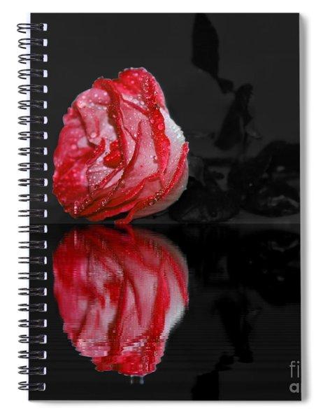 Rose In Water Spiral Notebook